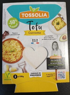 Tofu Curcuma - Produit - fr