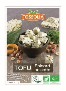 Tofu Epinard noisette - Product