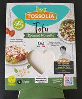 Tofu épinard noisette - Produit - fr