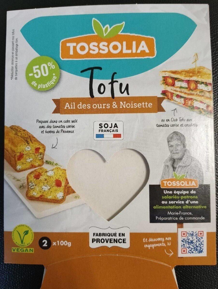 Tofu Ail des ours & Noisettes - Produit - fr