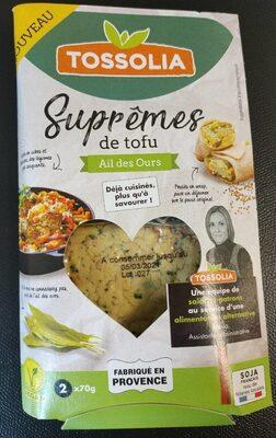 Suprêmes de tofu Ail des Ours - Produit - fr