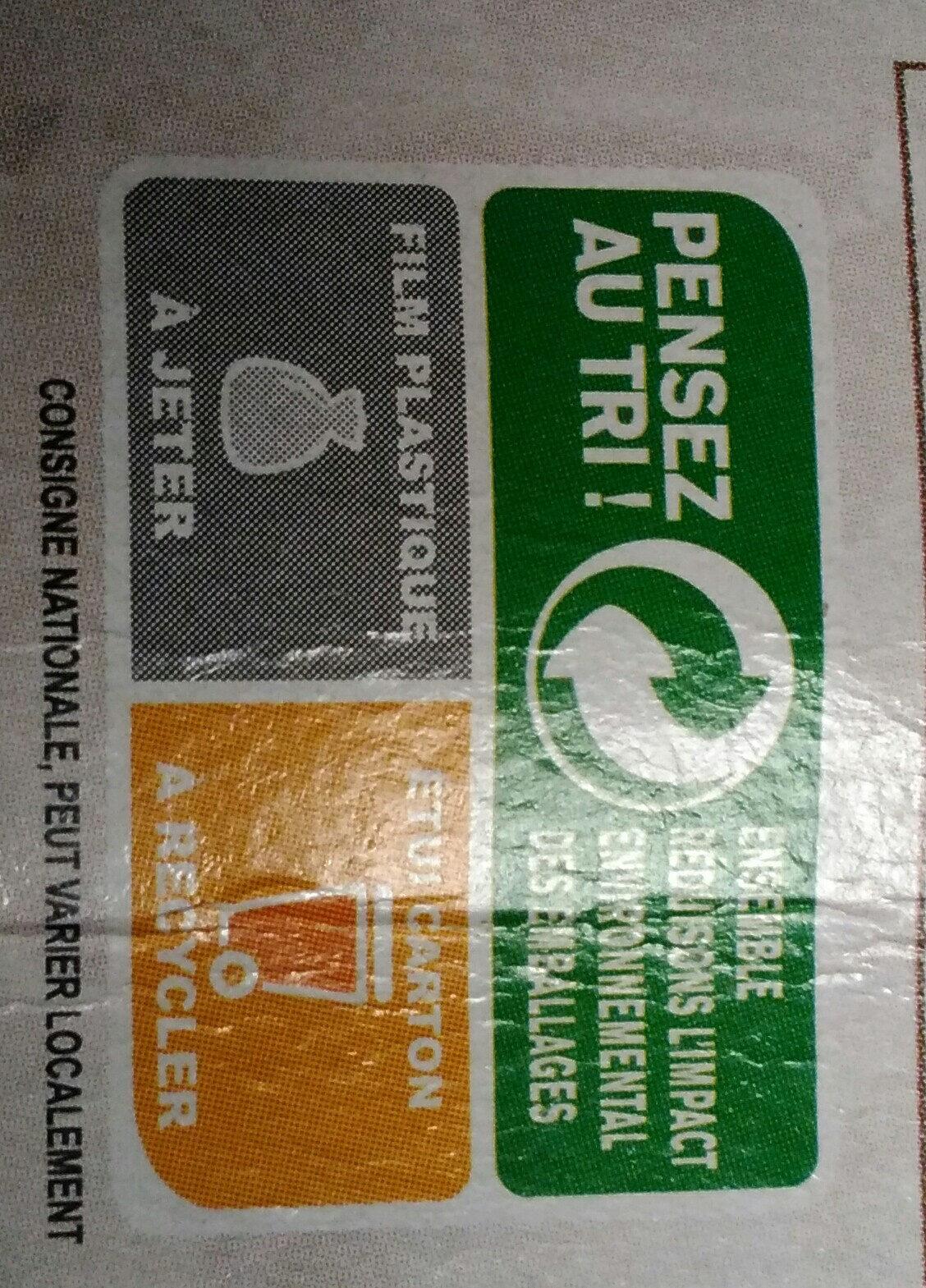Suprêmes de tofu Fumés au bois de hêtre - Instruction de recyclage et/ou informations d'emballage - fr