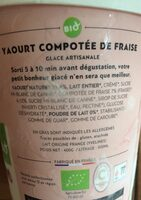 Yaourt compotee de fraise glace - Ingredienti - fr