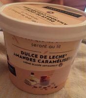 Crème Glacée Dulce de Leche, Amandes Caramélisées - Produit