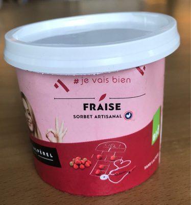 Sorbet artisanal fraise - Product