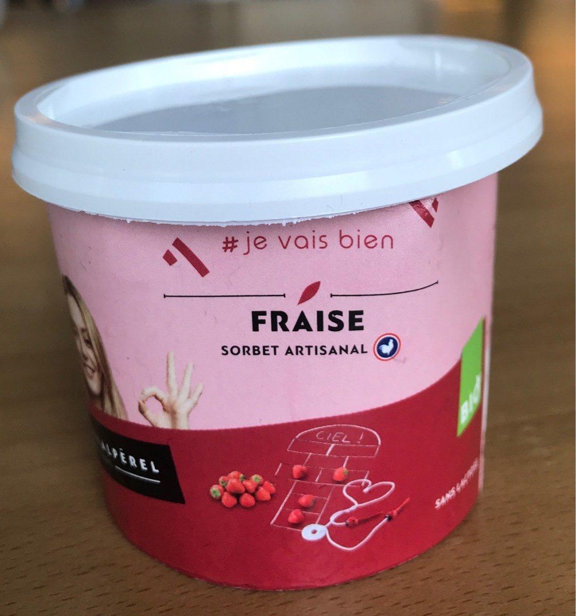 Glace a la fraise - Product - fr