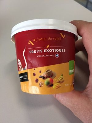 Sorbet artisanal fruits exotiques - Product