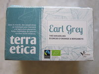 Earl Grey Thé Darjeeling écorces d'orange et bergamote - Product