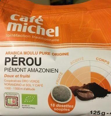 Dosettes Pur Arabica Du Perou - Prodotto - fr
