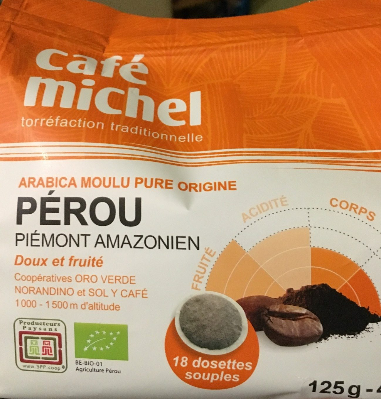 Dosettes Pur Arabica Du Perou - Product - fr