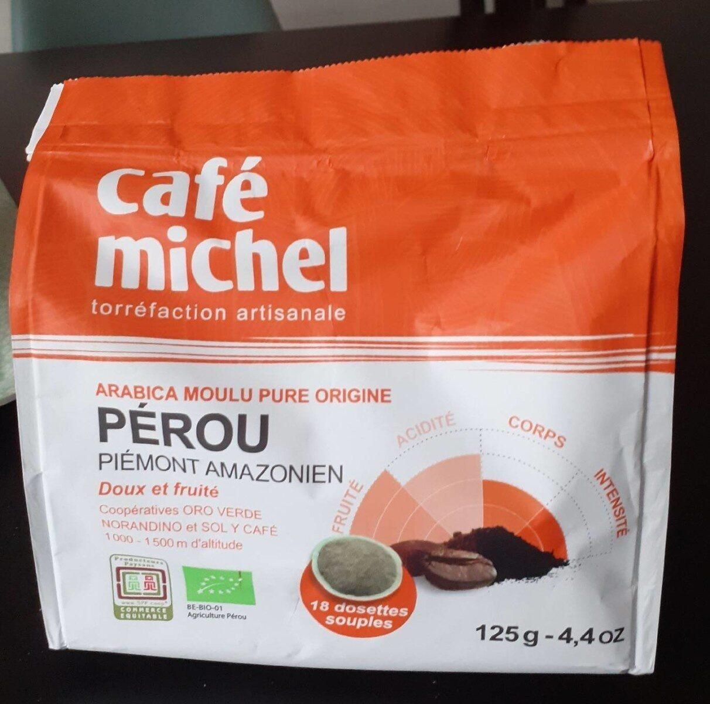 Dosettes Pur Arabica Du Perou - Valori nutrizionali - fr