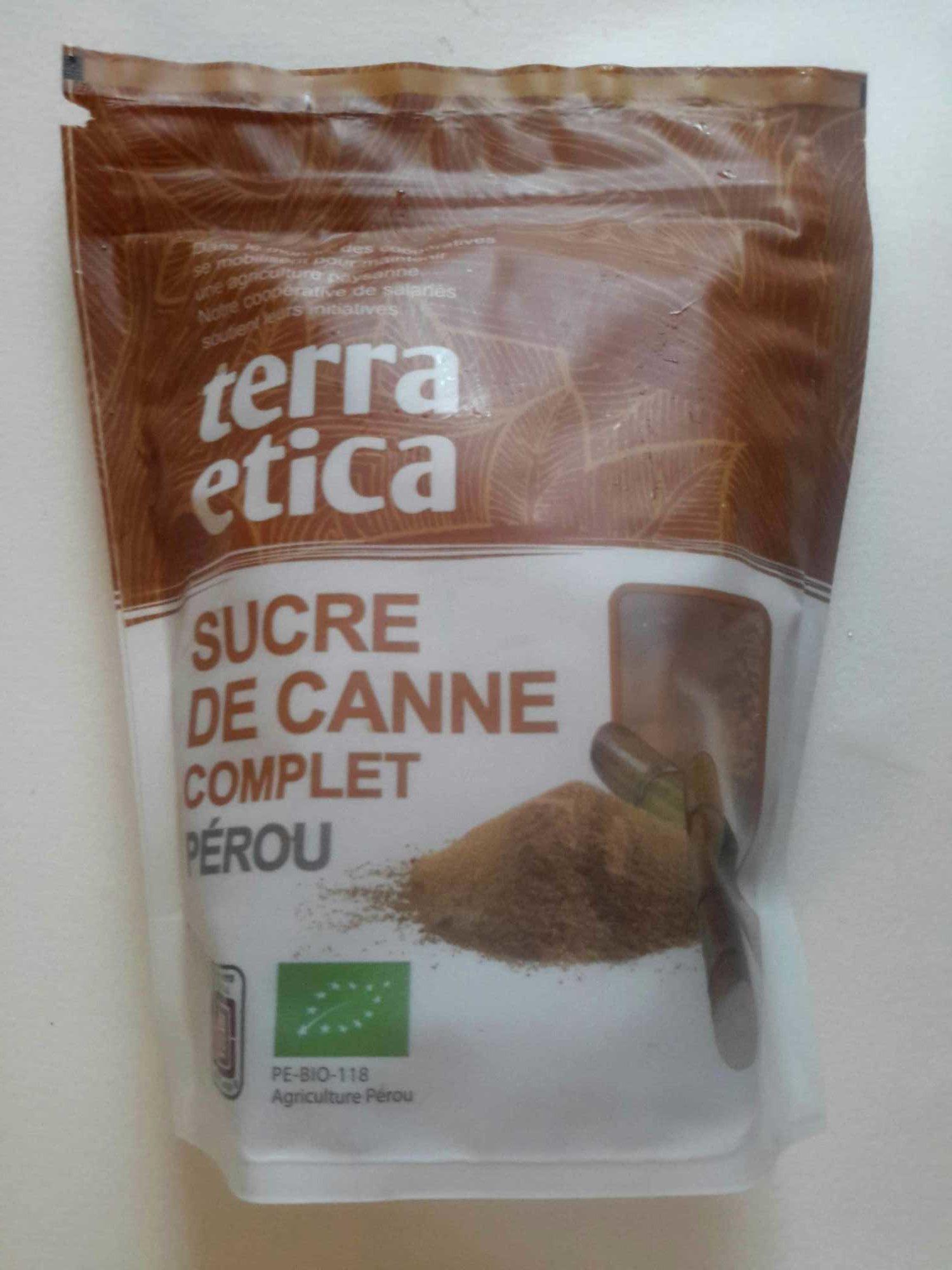 Sucre de canne complet Pérou - Prodotto - fr