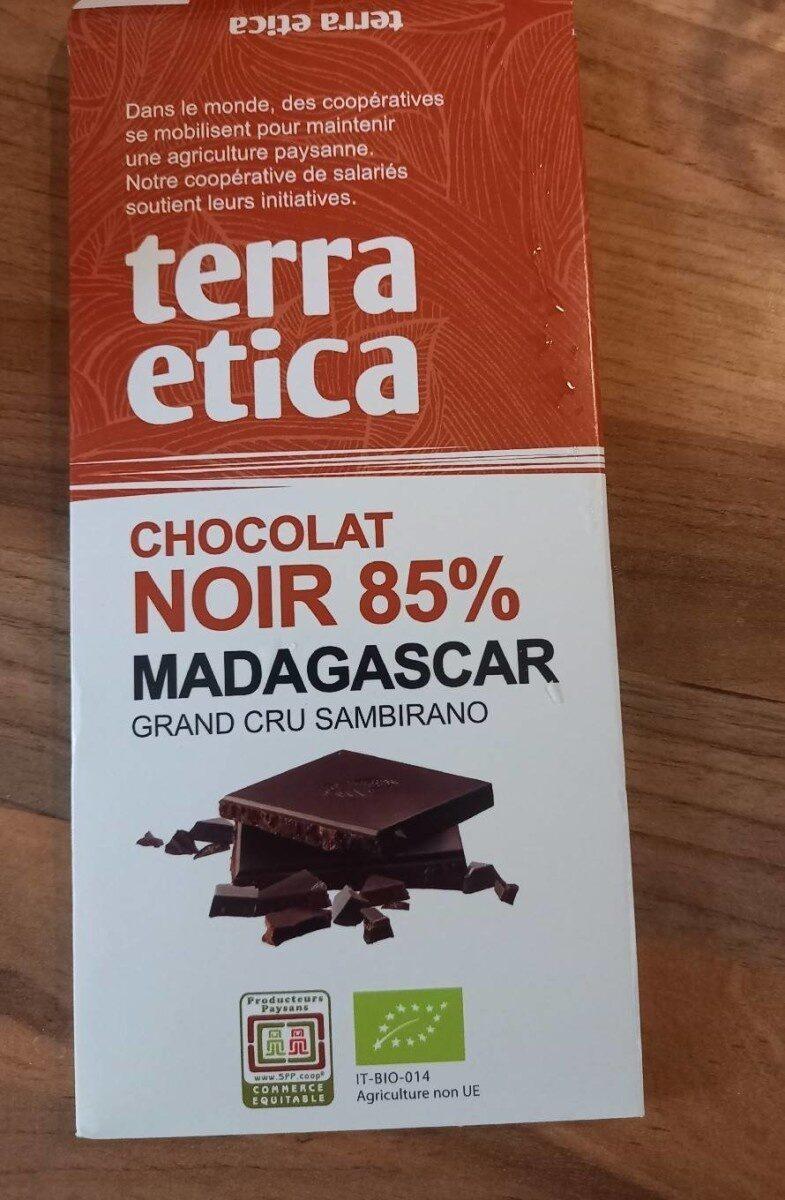 Chocolat noir 85% Madagascar grand cru sambirano - Prodotto - en