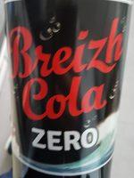 Breizh Cola zéro - Produit