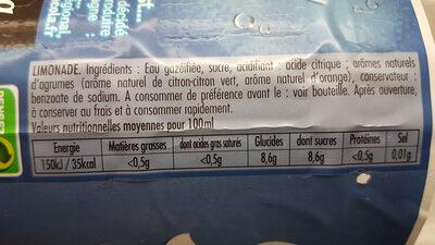 Breizh lim' - Ingredients