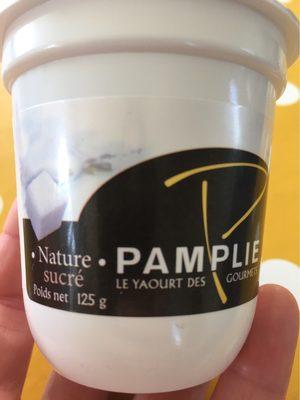 Yahourt nature sucré - Produit