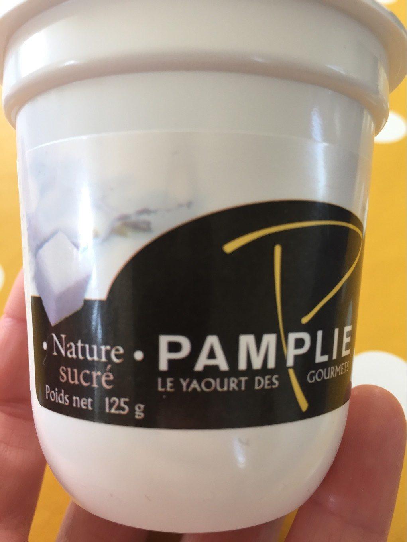Yahourt nature sucré - Produit - fr