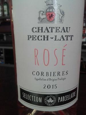 Corbières rosé 2015 - Product - fr