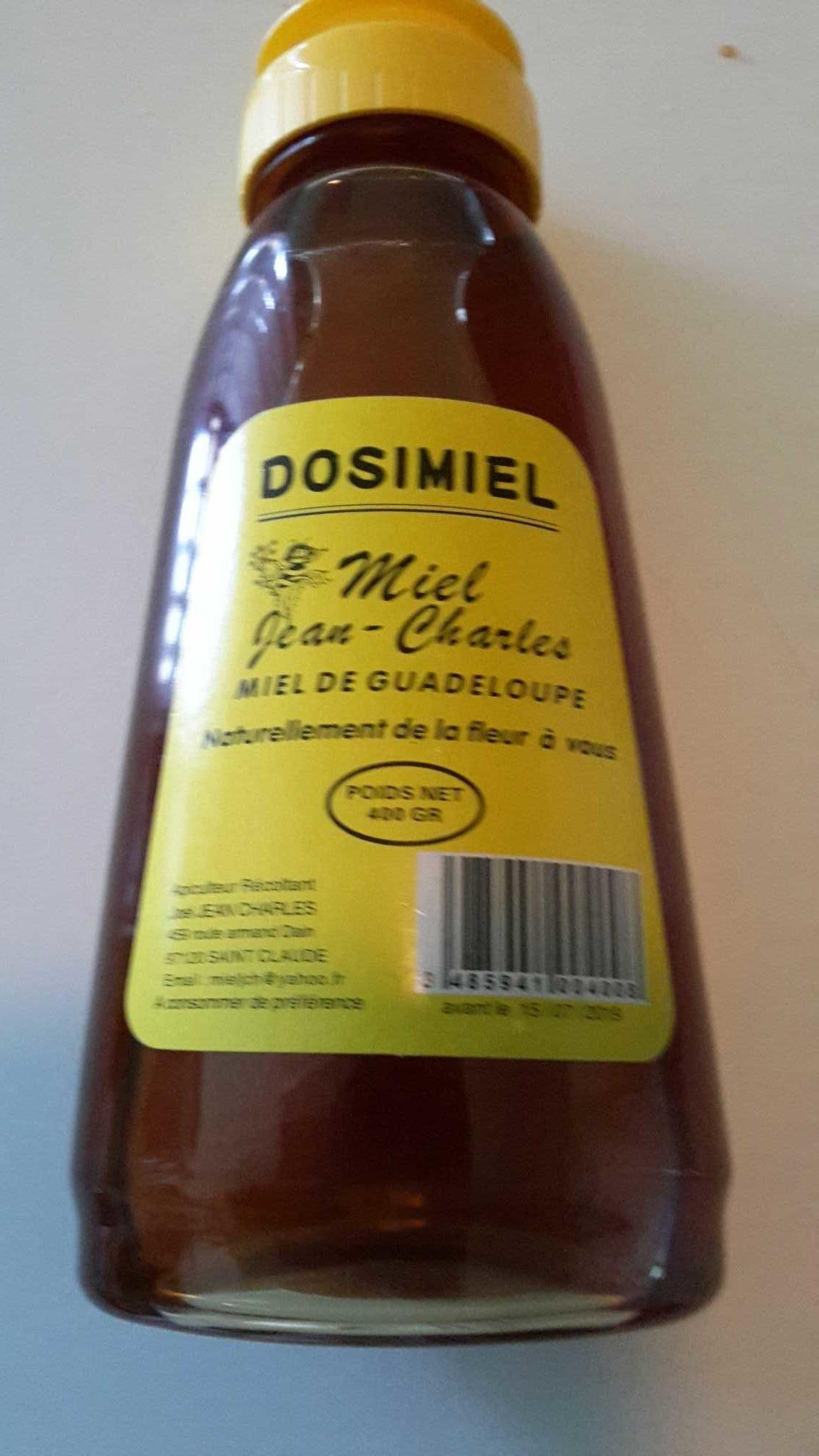 Miel de Guadeloupe - Product