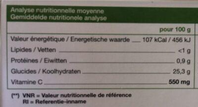 Immuno+ Propolis - 20 Ampoules - Ladrôme - Informations nutritionnelles - fr