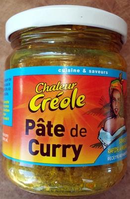 pâte de curry - Produit