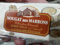 nougat aux marrons - Product