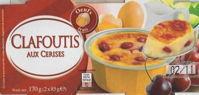 Clafoutis aux Cerises - Produit - fr