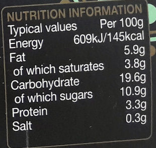Divine Rice Coconut - Nutrition facts