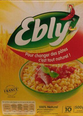 Blé ebly - Produit - fr