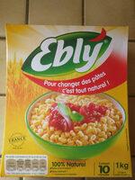 Blé tendre cuisson 10 min Ebly 1kg - Product - fr