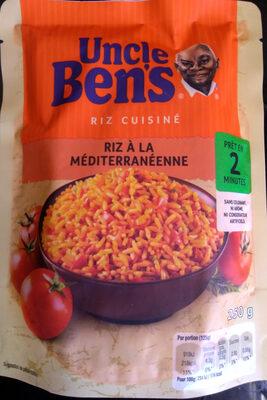 Riz à la Méditerranéenne - Produit