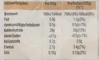 Spitzen-Langkorn-Reis - Informations nutritionnelles - de