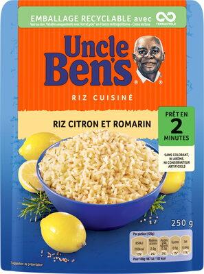 Riz Citron et Romarin - Product - fr