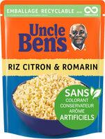 Riz citron et romarin Uncle Ben's 250 g - Produit - fr