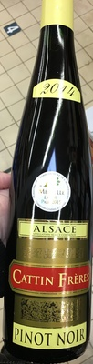Pinot noir 2014 - Produit