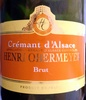Crémant d'Alsace Brut - Produit