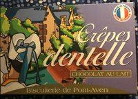 Crêpe dentelle ( chocolat au lait ) - Produit - fr