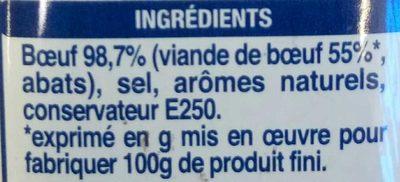 Corned-beef dans sa gelée - Ingredients