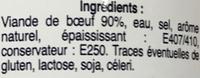 Boeuf à la gelée - Ingrédients - fr