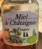 Miel Châtaignier - Product - fr
