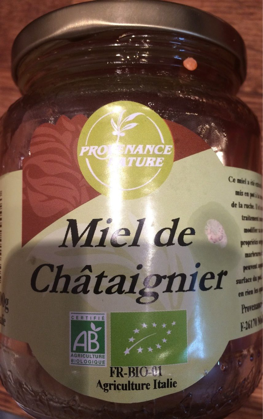 miel de thym provenance nature