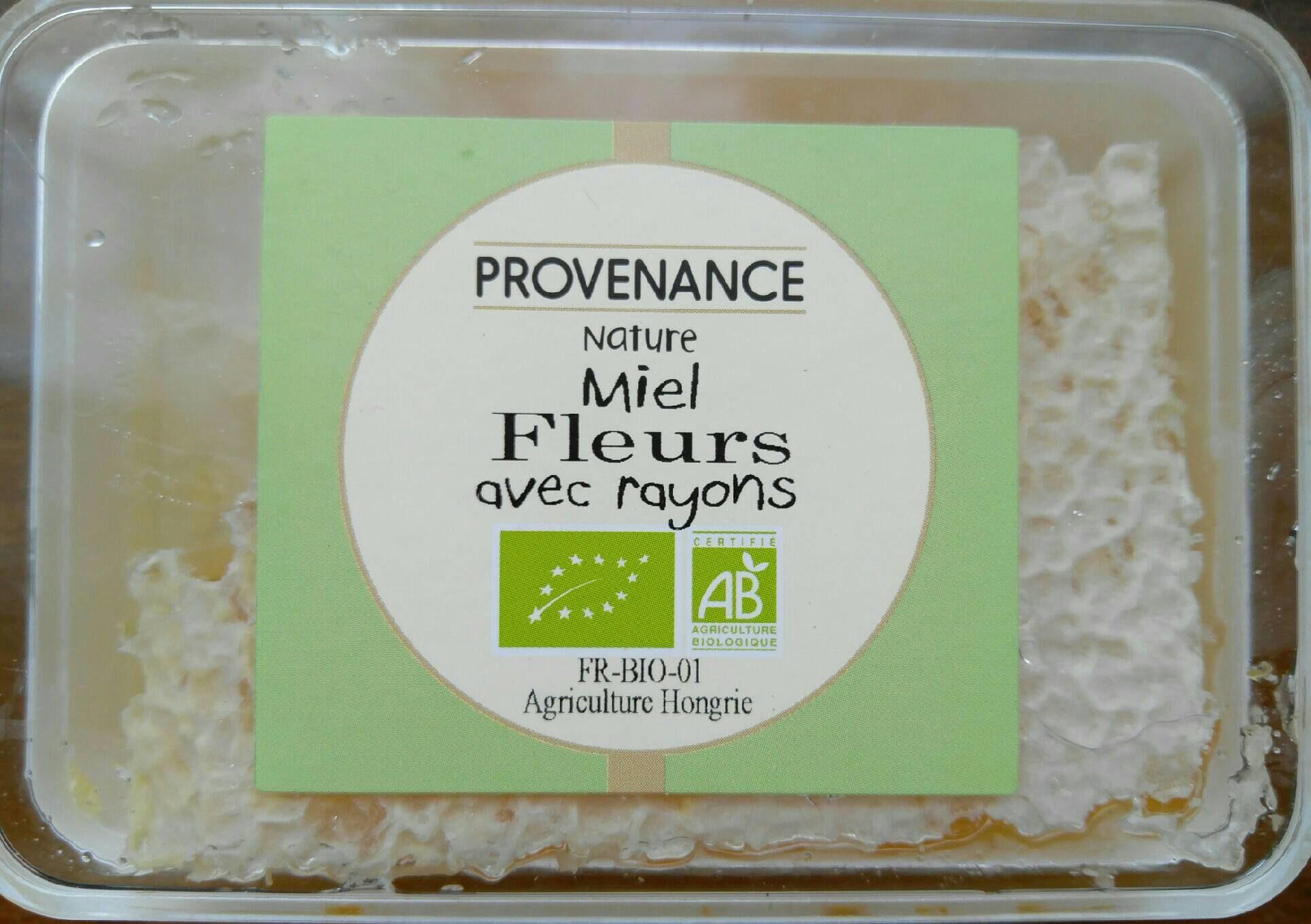 Miel fleur avec rayons - Product