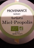 Bonbon miel propolis - Produit