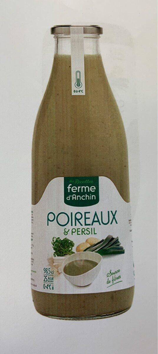 Soupe fraiche de poireaux persil. Contient 3 legumes. - Product - fr