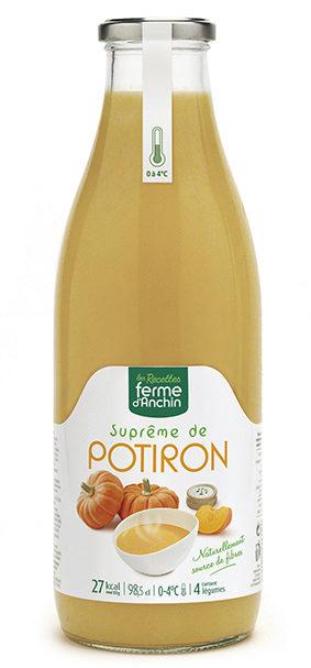 Supreme de potiron Contient 4 legumes. - Product
