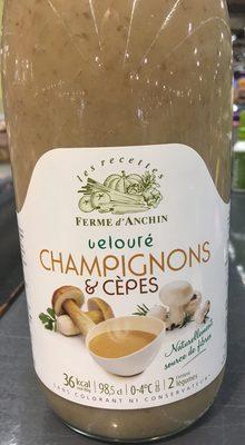 Velouté champignons & cèpes - Produit