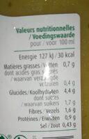 Soupe 8 légumes - Voedingswaarden - fr