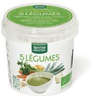 Soupe de Légumes Biologiques 5 Légumes - Produit