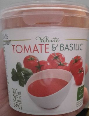 Velouté Tomate & Basilic Bio - Product - fr