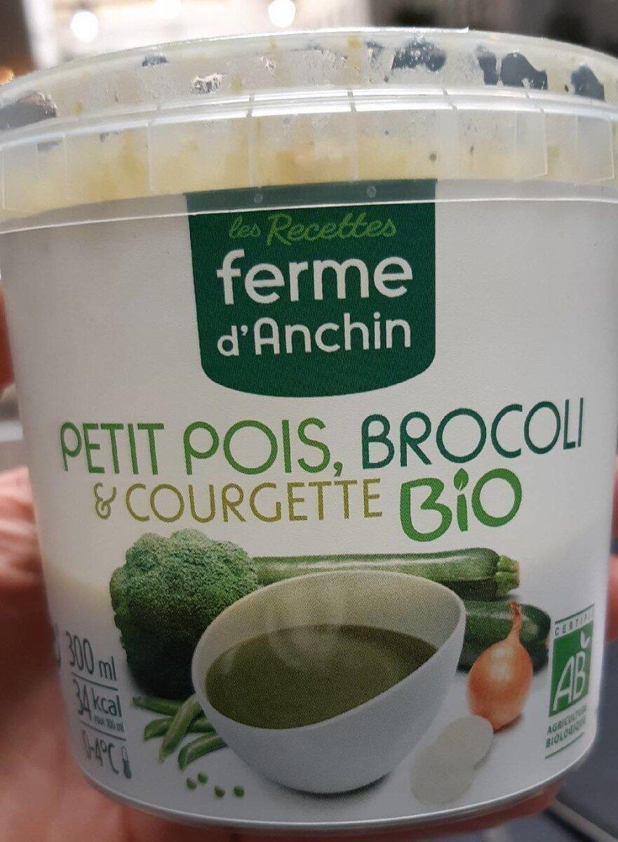 Soupe petit pois brocoli et courgettes bio - Product - fr